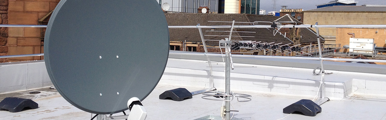 Installation of satellite dishes and aerials across Falkirk, Stirling, Alloa and Central Scotland